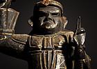 Antique and very rare Myoken Bosatsu Statue Edo Period