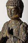 Bronze Buddha Tibeto-Chinese from 19th. century