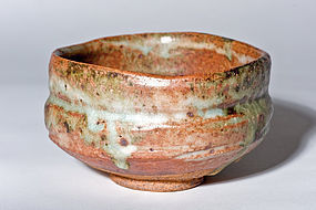 Chawan by Living National Treasure Toyozo Arakawa