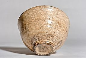 Ido Chawan 17th. century Korea with wood box