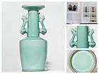 Chinese Kinuta Seiji Celadon Vase  (Song - Yuan Period) Ex Museum