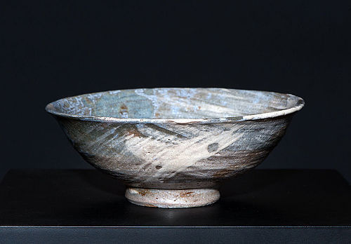 Korean Hakeme Chawan of early Choseon Period (14th-16th cent)