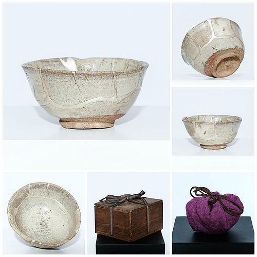 Momoyama Ko-Karatsu Madara Tea Bowl