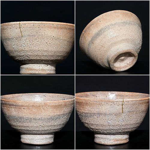 Ido-shaped Ko-Hagi Chawan early Edo Period