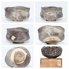Grey Shino Oribe Chawan of early Edo Period