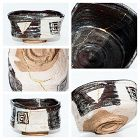 Edo Period Shino-Oribe Chawan with perfect Kintsugi