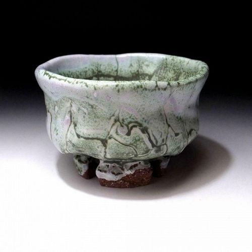 Oni Hagi Chawan by great artist Seigan Yamane