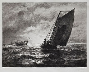 John Henry Hill, Etching, 1886