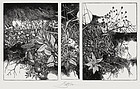 Barry Moser, Wood Engraving, Garden of Satanic Delights