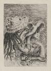 "Pierre Auguste Renoir, Etching, ""Le Chapeau Epingle (The Pinned Hat)"""