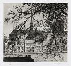 """Samuel Chamberlain, etching, """"The Il-De-La-Cite, Paris"""" 1925"""