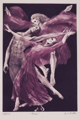 Gatja Rothe, Mezzotint, 1982
