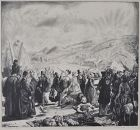 "George Bellows, lithograph, ""The Irish Fair"""
