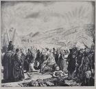 """George Bellows, lithograph, """"The Irish Fair"""""""
