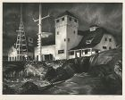 "Stow Wengenroth, lithograph, ""Coast Guard"""