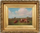 "George Arthur Hays, oil painting, ""A Summer Day"""
