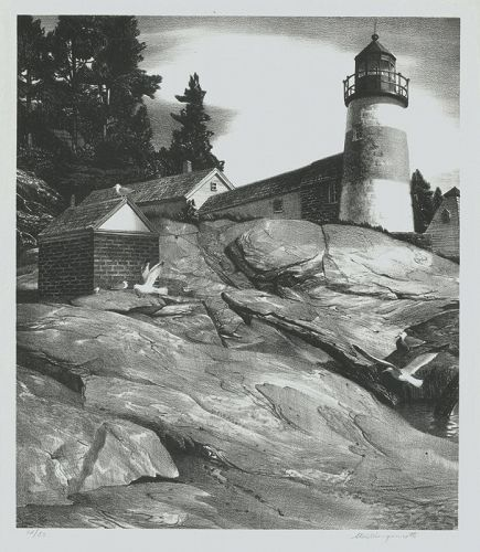 Island Light, Boothbay Harbor