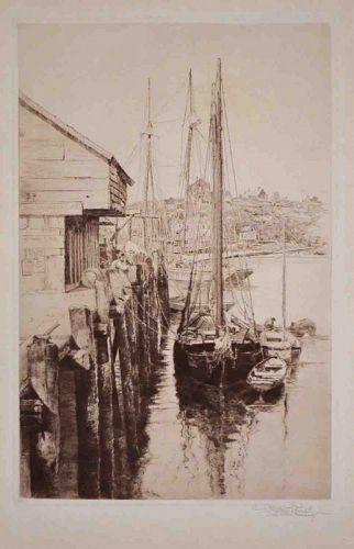 A Gloucester Wharf