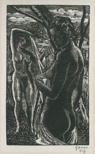 Nude Bathers, Emil Ganso