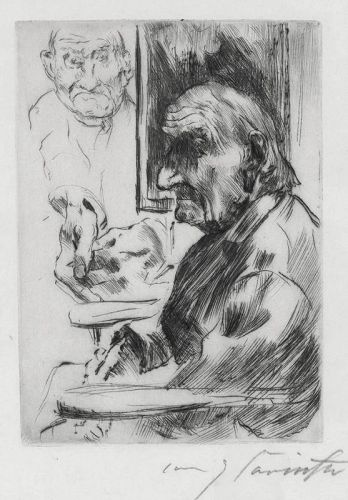 Alter Mann (Old Man) by Lovis Corinth