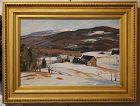 Aldro T Hibbard painting  Welles River Vermont