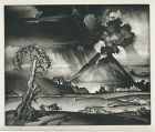 Reynold Weidenaar, mezzotint, Valley of Wrath