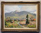 John Enser painting Mount Monadnock c. 1950