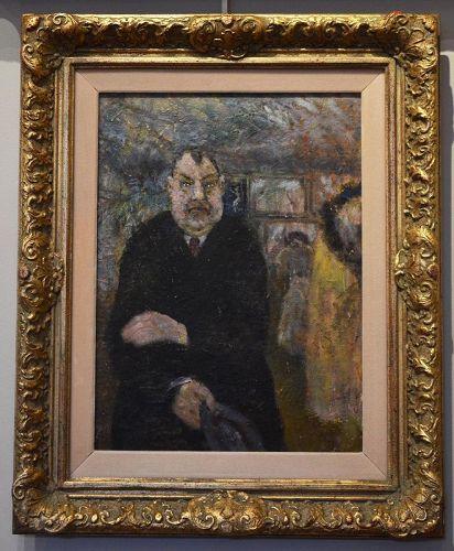 Henry Rosenberg, painting, Museum Visitor