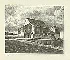 "Albert W. Barker, Lithograph, ""Upper Barn, 2nd Stone"""