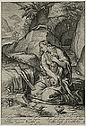 "Jacob Matham, Engraving, ""St. Mary Magdalen Penitent"""