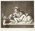 "Etienne Picart, ""The Virgin, St. John and Christ"""