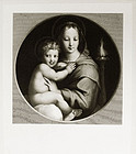 """Francois E. A. Bridoux, """"Madonna dei Candelabri"""