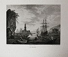 """Dequevauviller, engraving, """"Le Phare"""""""