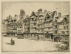 "John Taylor Arms, ""Lace Place Victor Hugo Lisieux"""