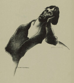 "William Schwartz, lithograph, ""Daydream"""