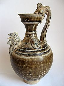 Chinese Tang Period Chicken Head Ewer