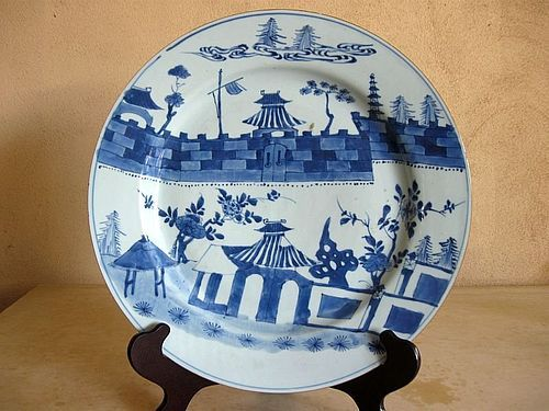 Chinese Kangxi Period Porcelain Charger