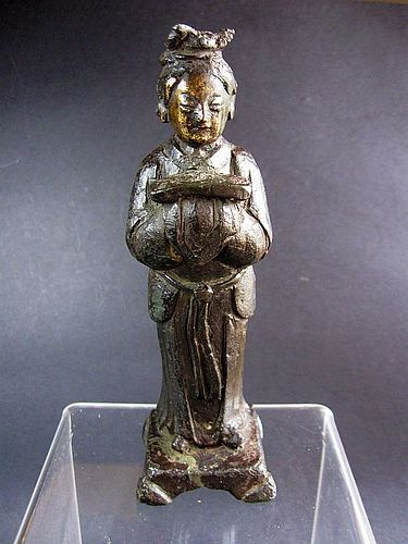 Chinese Ming Period Bronze Figure