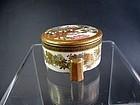 Japanese Miniature Satsuma Lidded Pot by Kaizan