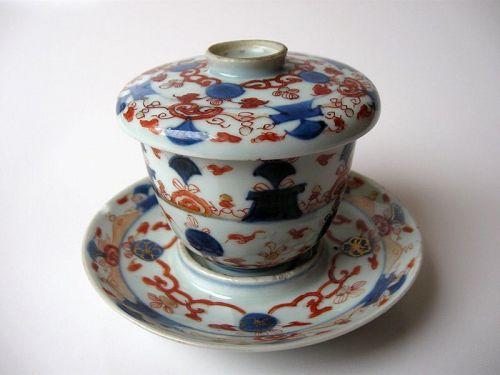 Chinese Kangxi Period Porcelain Trio