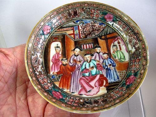 Chinese Porcelain Mandarin Bowl