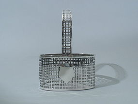 Meriden Britannia Sterling Silver Basket C 1910