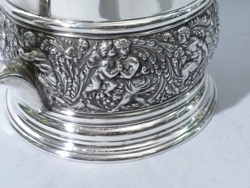 "Tiffany & Co. ""Olympian"" Sterling Tankard Circa 1895"