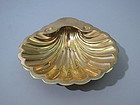 S, Kirk & Son Gilded Sterling Shell Dish