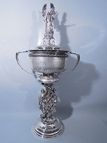 Elkington Sterling Alexander Channel Cup Trophy 1910
