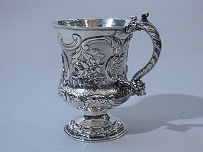 English Silver Baby Cup London 1824