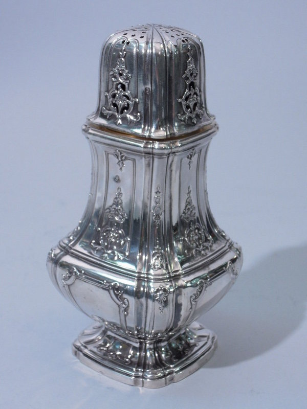French Silver Classic Design Sugar Shaker