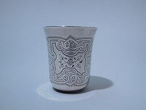 Russian 875 Silver Vodka Cup 1868