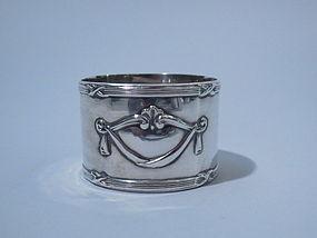Sterling Silver Napkin Ring Birmingham 1912