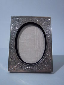 Blackinton American Sterling Silver Photo Frame C 1910